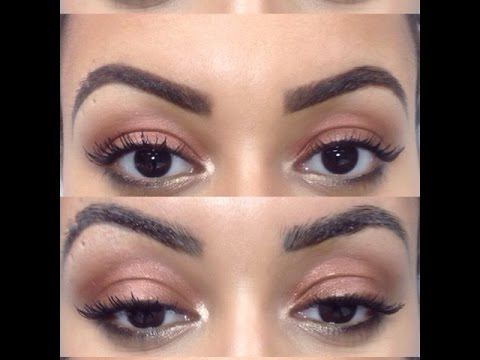 How To: Fill in / Change The Shape Of Tattooed Eyebrows (Waterproof ...