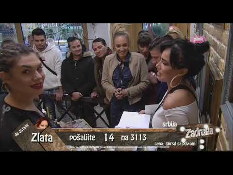 Zadruga 2 - Rođendan Aleksandre  Subotić, 2. deo - 02.10.2018.