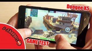 dOOGEE X5 - Game Test бюджетного смартфона в игре WOT BLITZ
