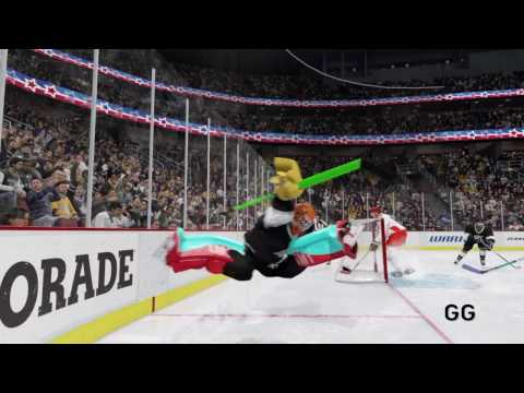 NHL 16 Best Glitch Ever, Big Hits Part 4