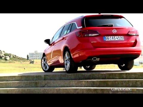 Essai - Opel Astra Sports Tourer 2016: allégé en graisse, riche en omega 3