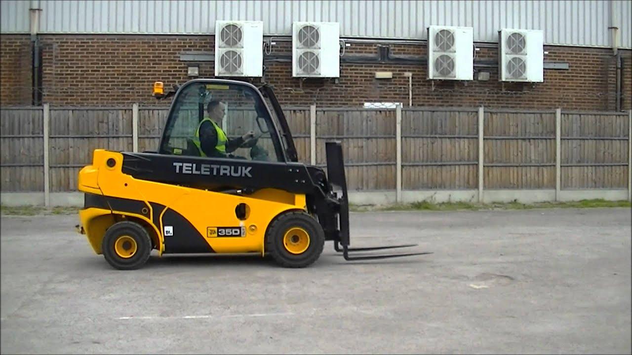 Jcb Teletruk Tlt 35d 3 5t Diesel Counterbalanced Reach