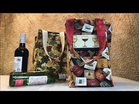 Wine Bottle Bag - Holds up to 4 bottles!