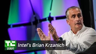 Silicon on Wheels from Intel's Brian Krzanich | Disrupt SF 2017