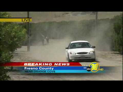 Burned Body Found By Farm Workers in Fresno, California