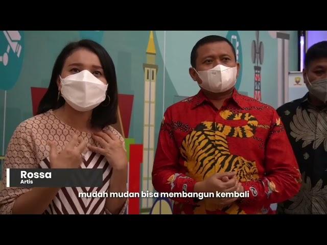 Rossa Dinobatkan Sebagai Duta Sahabat Desa SDGs