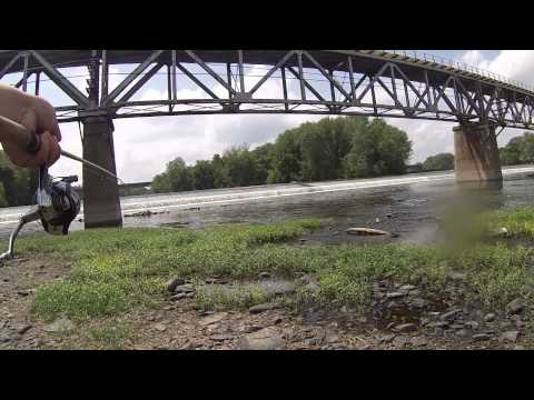 Exploring And Fishing The Norristown Dam (Norristown, PA)