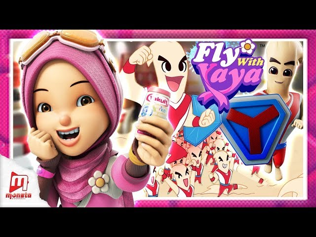 Fly With Yaya - Bakteria Baik? / Good Bacteria? (Malay/ENG/JP captions)