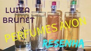 Perfumes Avon. Luiza Brunet