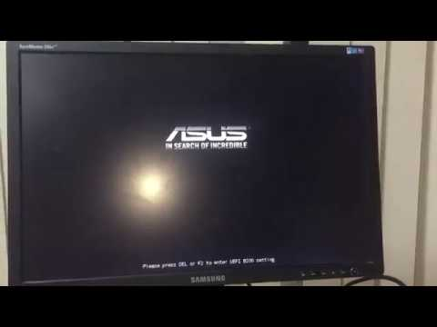 Компьютер зависает на заставке биоса, ASUS 970 PRO Gaming/Aura + AMD FX 8370