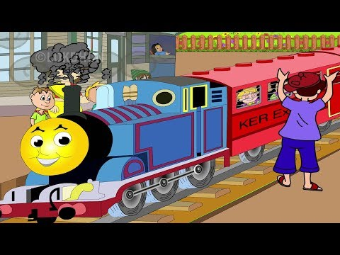 Chuk Chuk Rail Gadi - Hindi Rhymes For Children 2018   Hindi Balgeet, Hindi Kids Songs, Hindi Poems