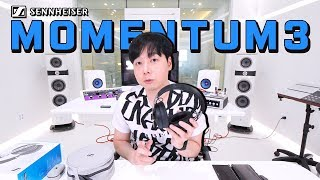 [Eng/Chn Sub] 젠하이저 모멘텀 3 상세리뷰! Sennheiser Momentum 3 Detailed Review