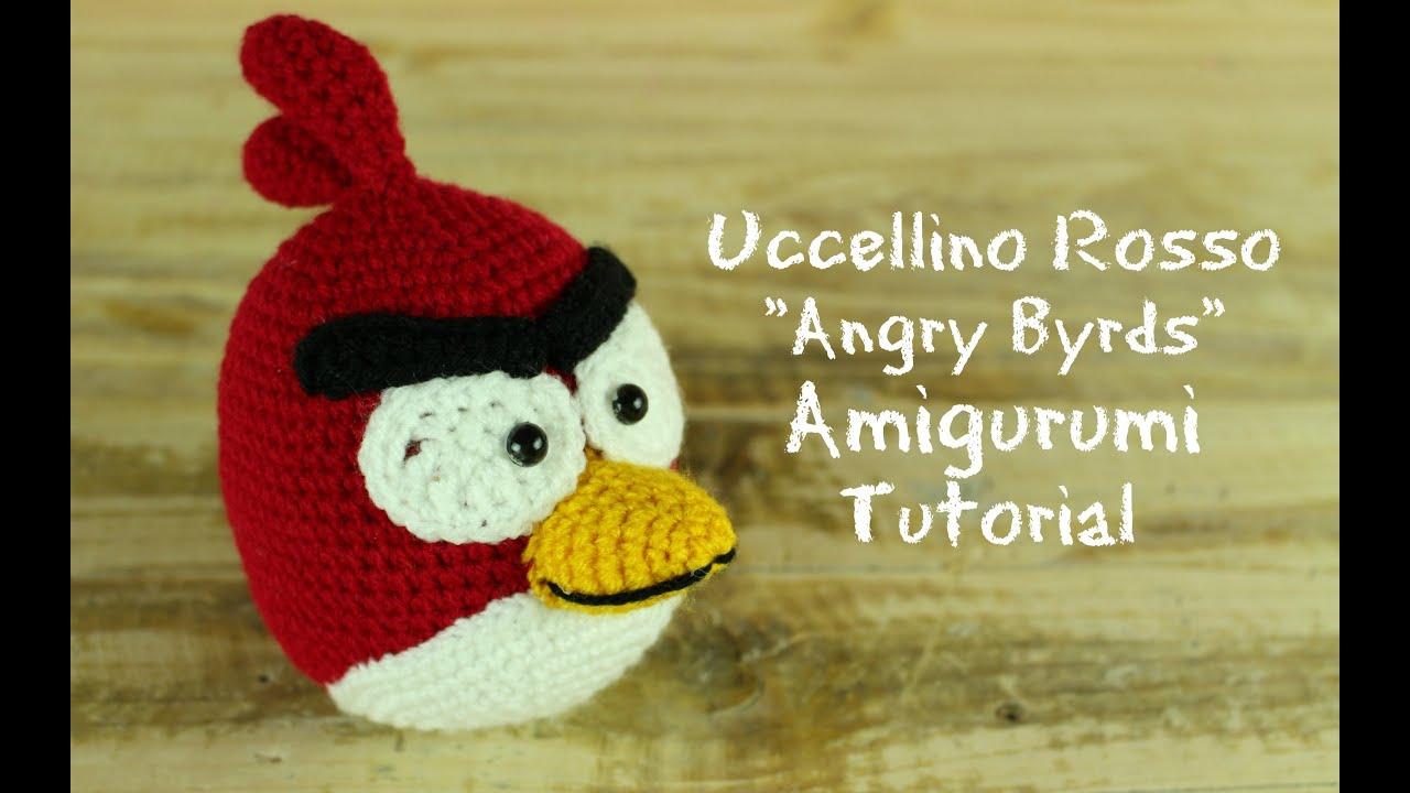 Uccellino Rosso Angry Birds Amigurumi World Of Amigurumi Youtube