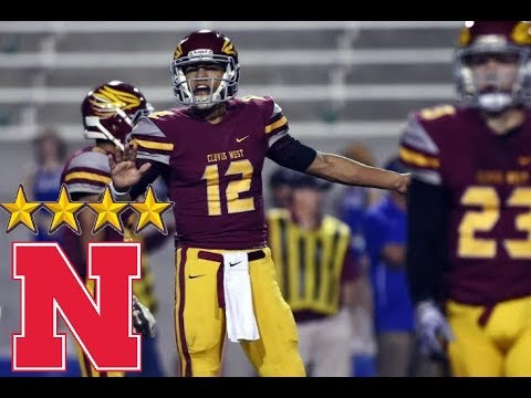 "Adrian Martinez Highlights - 4 Star Nebraska Commit - ""I'm the man"""