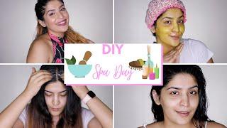 DIY Spa Day | Shea Butter DIY For Hair & Face | Shreya Jain