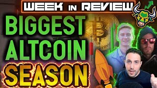 BITCOIN ALL TIME HIGH WILL TRIGGER INSANE ALT SEASON!! DeFi NFT and Cryptocurrency Week in Review!