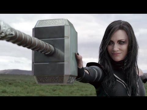 Hela Destroys Thor's Hammer In Thor Ragnarok