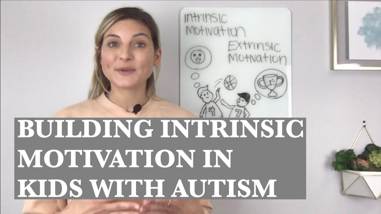 Building Intrinsic Motivation vs Using External Rewards with Kids on the Autism Spectrum