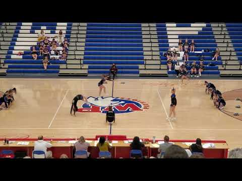 Tyler Consolidated High School at WVSSAC Region 1 A Cheer 2020