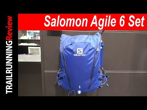 558ba6f338 Salomon Agile 6 Set Preview - YouTube