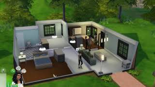 A Couple Starting Out Their Lives in the The Sims 4