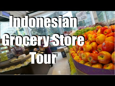 Indonesian Grocery Store Tour