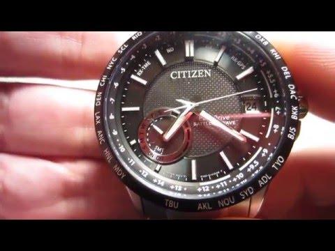 Citizen CC3005-85E Satellite Wave GPS, Sapphire Crystal, Eco-Drive, Perpetual Calendar
