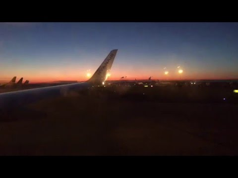 Ryanair Sunrise Departure   FR153   Leeds Bradford - Dublin   Full Flight   24thFEB16   1080p