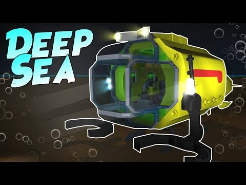 DEEP SEA EXPLORATION - PART 1 - Scrap Mechanic Creations Community Project