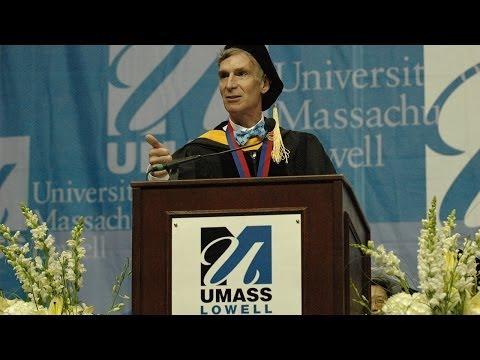 UMass Lowell Morning Commencement 2014, Speaker: Bill Nye (2:56:07)