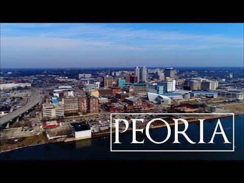 Peoria, Illinois | 4K Drone Video
