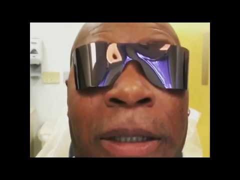 Ving Rhames at the dentist