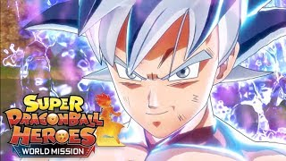 DÉCOUVERTE DE SUPER DRAGON BALL HEROES : WORLD MISSION VERSION FINALE !