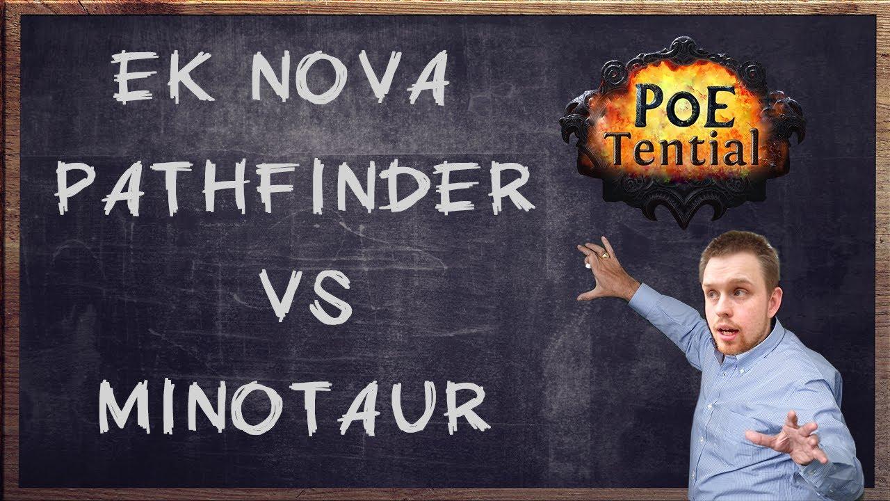 Poetential: Ethereal Knives Nova Pathfinder Vs Minotaur