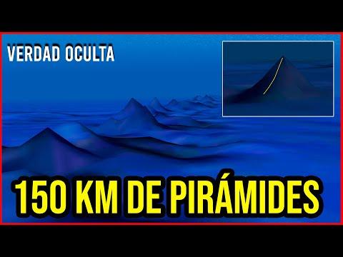 150 KM DE PIRÁMIDES BAJO EL OCÉANO EN LAS BERMUDAS