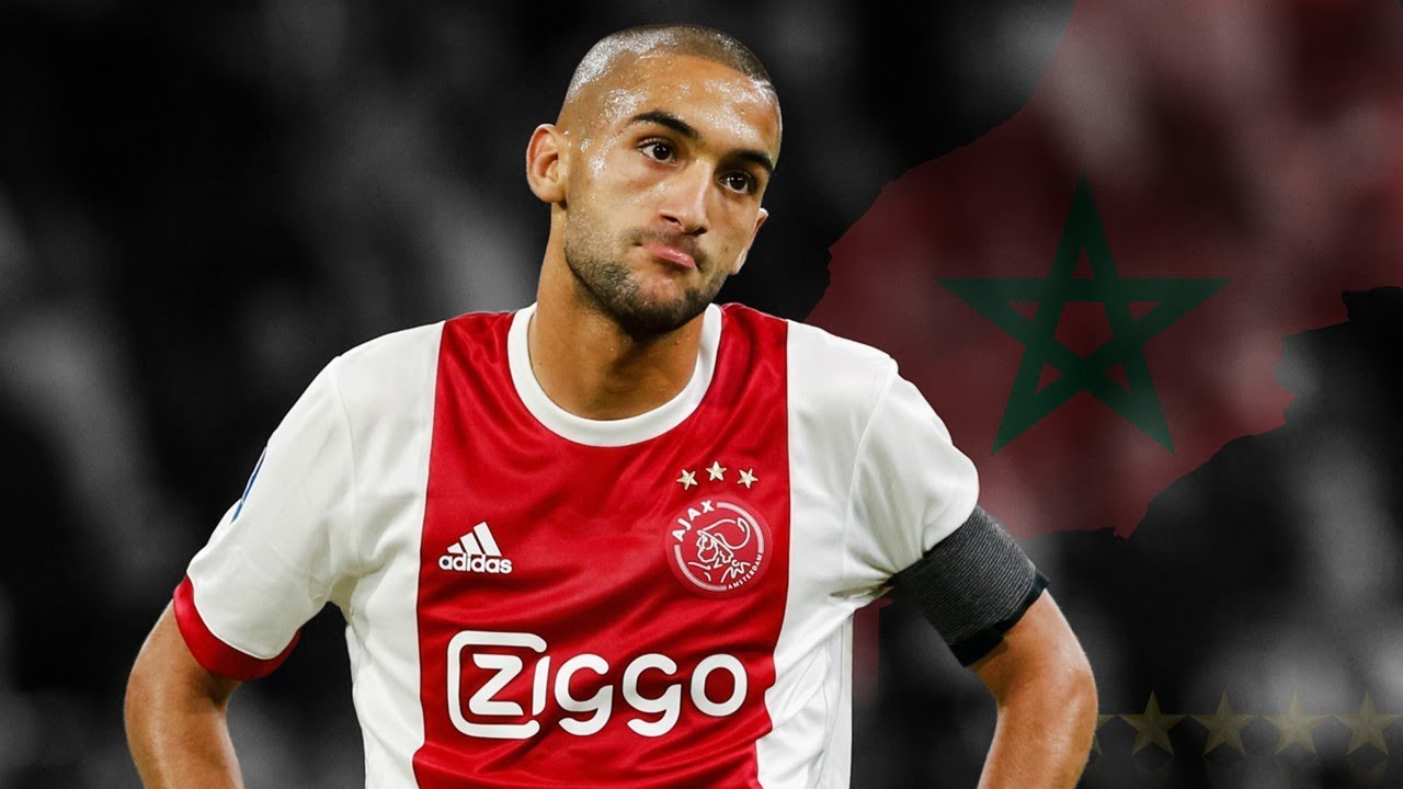Hakim Ziyech Goals And Skills 2017 2018 Hd Youtube