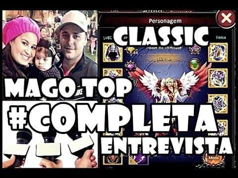 Entrevista Completa com JP - Mago Top 1 Do Legend Online Classic
