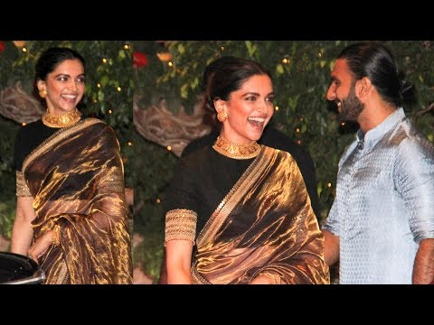 Deepika Padukone's Sari Look At Ambanis' Ganpati Celebrations Is Goals