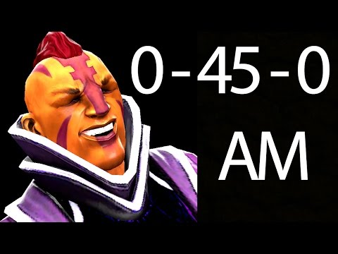0-45-0 Tryhard Feeding 5000 MMR Anti-Mage Dota 2