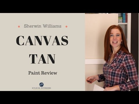 Colour Review: Sherwin Williams Canvas Tan - Kylie M Interiors