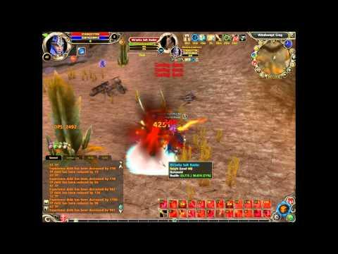 Runes of Magic Priest Gameplay [Level 62/50]