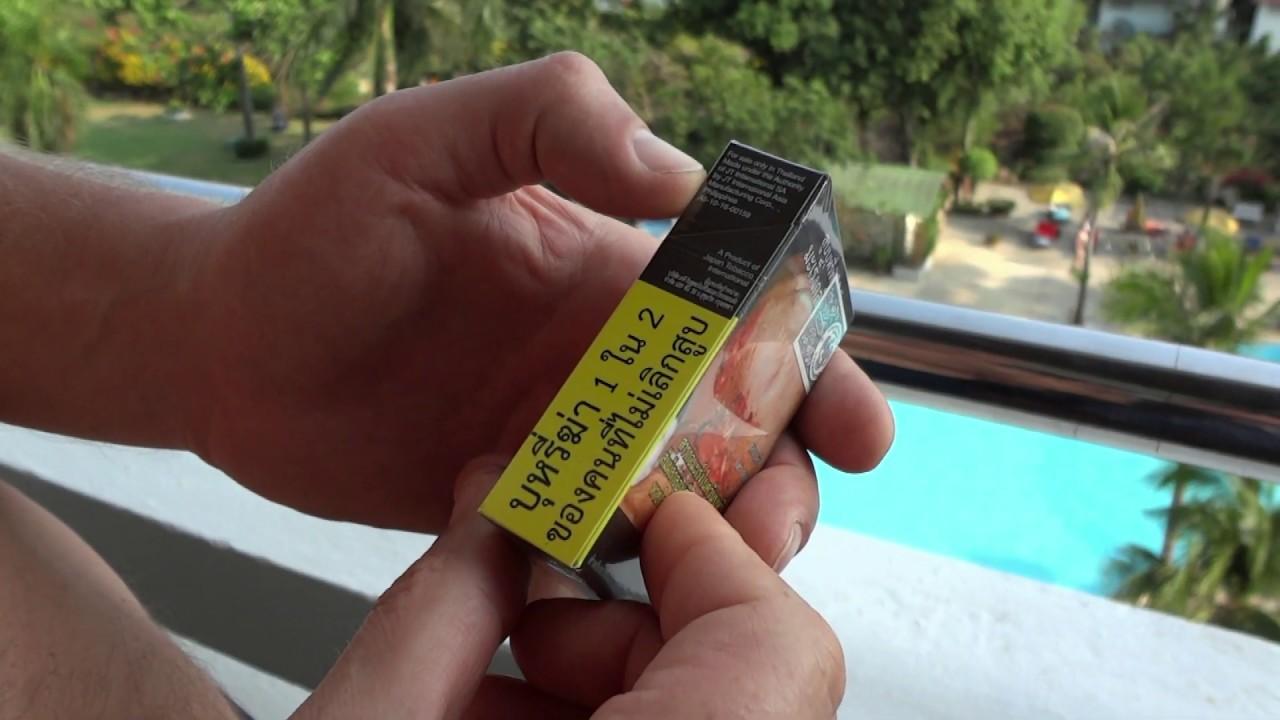 Все виды сигарет в фото тайланде