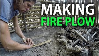 Gambar cover Fire Plow. Fire making with bamboo on a desert island