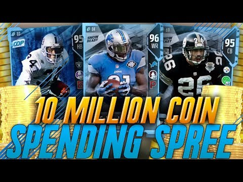 The Best Team on Madden 18 Ultimate Team! 10 Million Coin Sp
