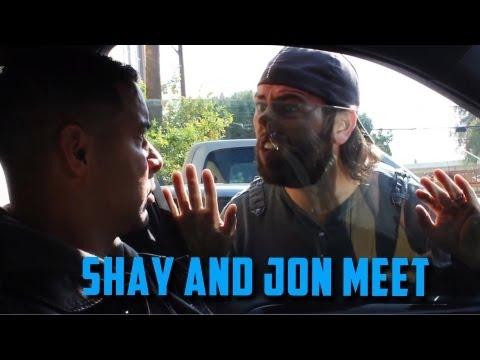 Jon Huertas and Shay Carl Meet