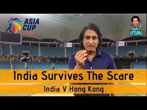 India survives the scare | India V Hong Kong | Asia Cup 2018