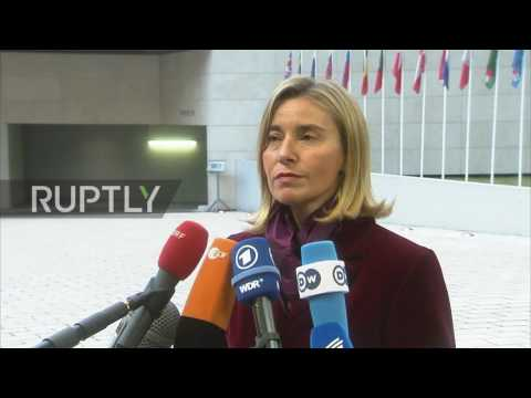 Luxembourg: EU has not discussed sanctions against Russia over Syria - Mogherini