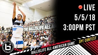 2018 Ballislife All-American 3pt Contest