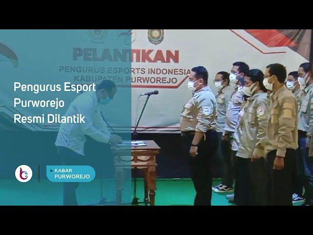 Pengurus Esport Purworejo Resmi Dilantik