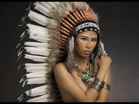 native american indian makeup